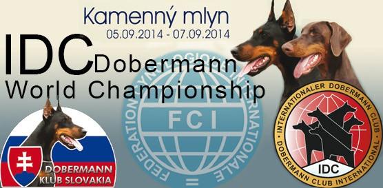 Поездка на Международный Чемпионат Доберманов IDC-2014  c Showleader 3 -9 сентября 2014 Kamenny Mlyn Словакия/ ShowLeader (Шоулидер) - поездки с собаками