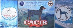 22-23 апреля 2017 2xCACIB Adriatic Cup, Бар (Черногория)