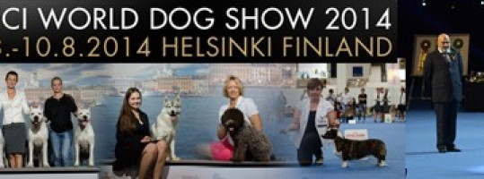 World Dog Show 2014 Хельсинки (Финляндия)