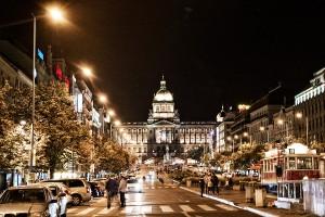 Ночная Прага, сентябрь 2012